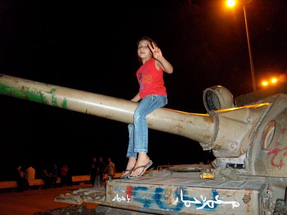 Girl on Tank-2