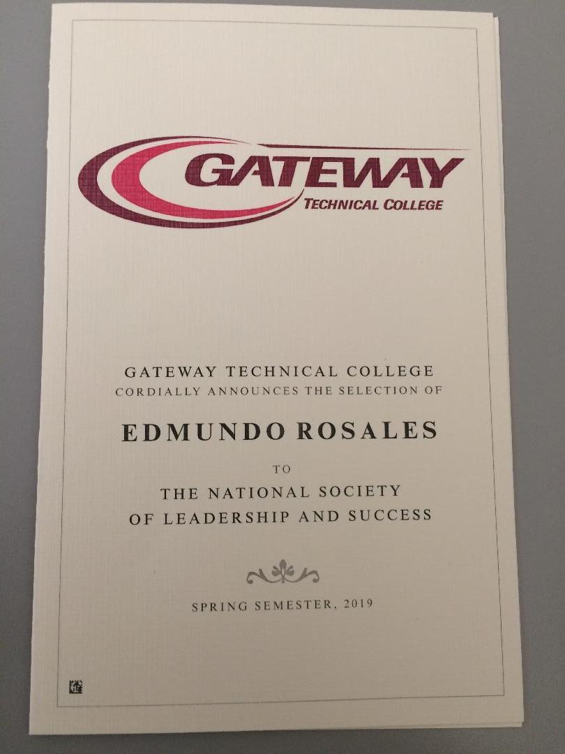 Gateway Award