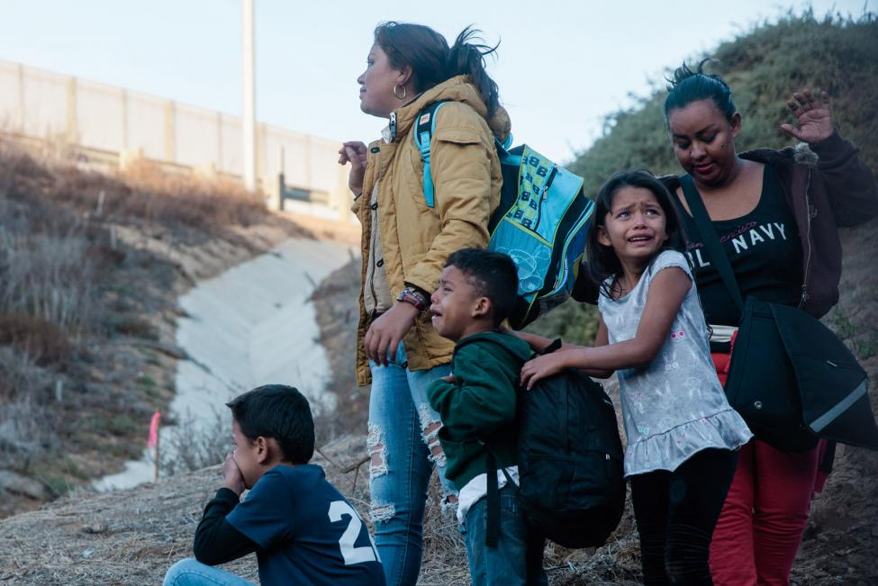 Parenting-in-a-migrant-caravan-Children-hit-hardest-by-strife